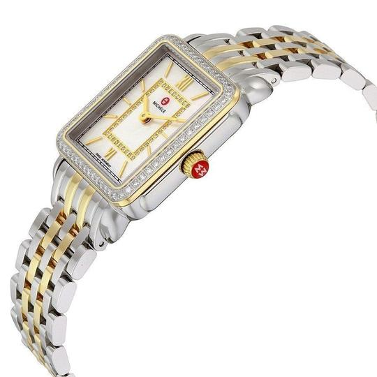 Michele Deco II Mid Stainless Mother of Pearl Diamond MWW06I000004 Image 2