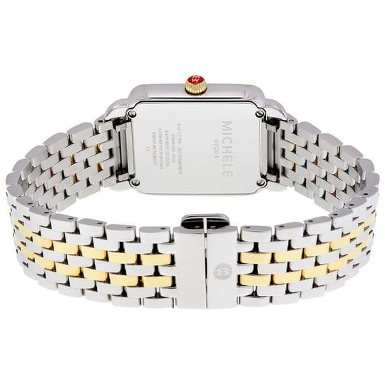 Michele Deco II Mid Stainless Mother of Pearl Diamond MWW06I000004 Image 3