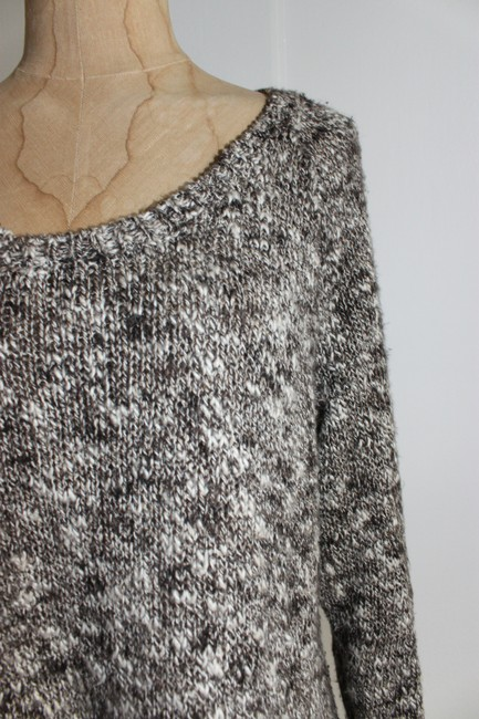 Eileen Fisher Marled Chunky Knit Sweater Image 1