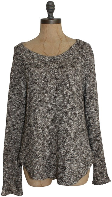 Preload https://img-static.tradesy.com/item/25434795/eileen-fisher-marled-brown-ivory-sweater-0-1-650-650.jpg