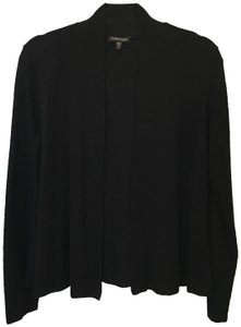 Eileen Fisher Crepe Long Sleeve Size Xs Extra Small Cardigan