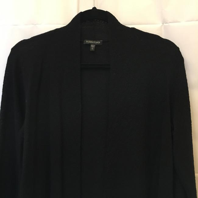 Eileen Fisher Crepe Long Sleeve Size Xs Extra Small Cardigan Image 1