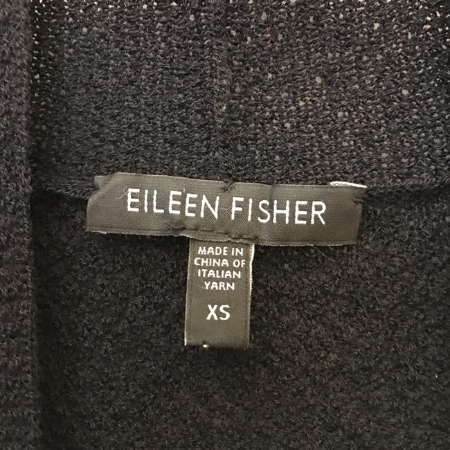 Eileen Fisher Crepe Long Sleeve Size Xs Extra Small Cardigan Image 2
