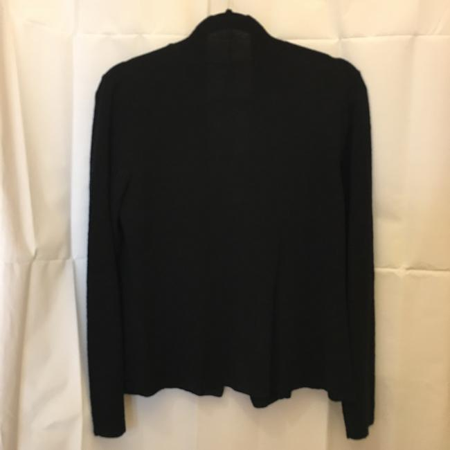 Eileen Fisher Crepe Long Sleeve Size Xs Extra Small Cardigan Image 5