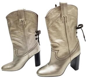 See by Chloé Gold Boots
