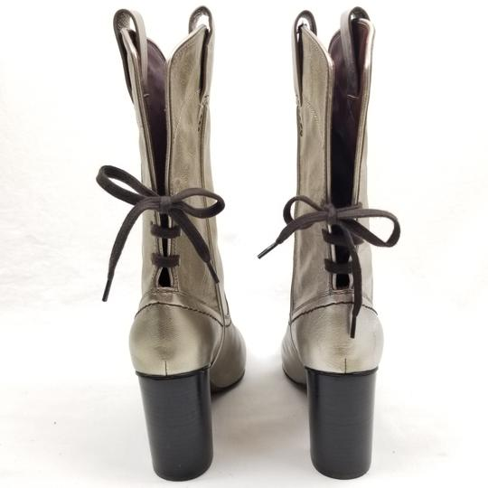 See by Chloé Gold Boots Image 1