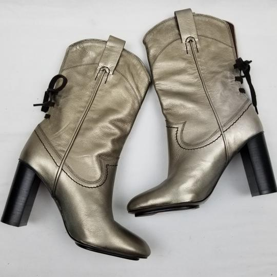 See by Chloé Gold Boots Image 4