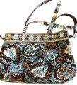 Vera Bradley Blue, Brown Travel Bag Image 0