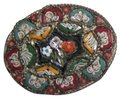 RM VIntage/Antique Millefiori Italy Brooch pin Marked RM Image 0