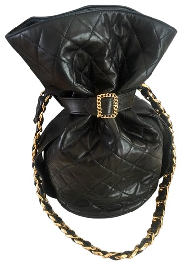Preload https://img-static.tradesy.com/item/25434968/chanel-bucket-ultra-rare-lmtd-ed-belted-cc-24k-gold-plated-chain-strap-black-lambskin-leather-should-0-3-540-540.jpg