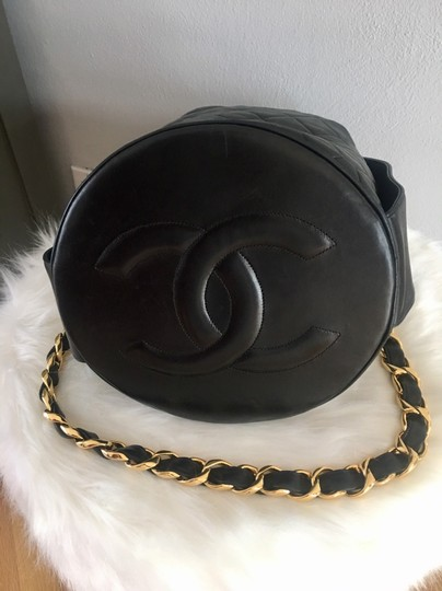 Chanel Bucket Chains Vintage Limited Edition Gold Plated Shoulder Bag Image 2