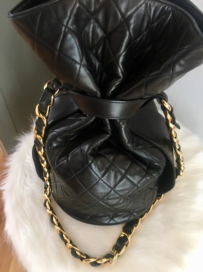 Chanel Bucket Chains Vintage Limited Edition Gold Plated Shoulder Bag Image 3
