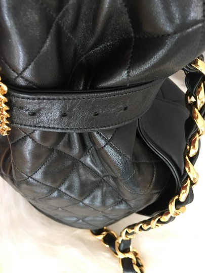 Chanel Bucket Chains Vintage Limited Edition Gold Plated Shoulder Bag Image 6