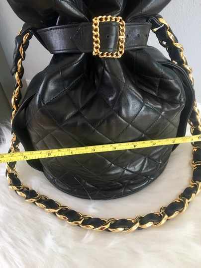 Chanel Bucket Chains Vintage Limited Edition Gold Plated Shoulder Bag Image 8