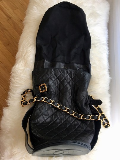 Chanel Bucket Chains Vintage Limited Edition Gold Plated Shoulder Bag Image 9