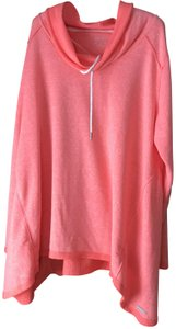Calvin Klein New With Tags High/Low Drawstring Cowl Terry Lined Machine Wash Sweatshirt