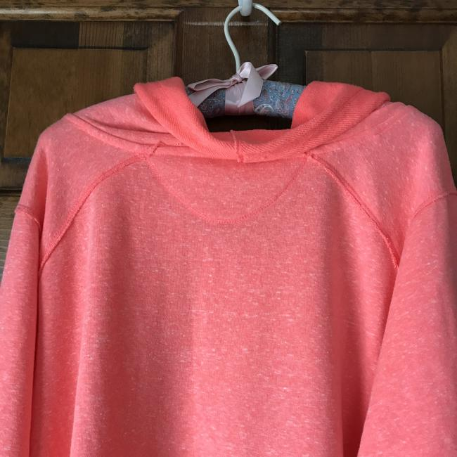 Calvin Klein New With Tags High/Low Drawstring Cowl Terry Lined Machine Wash Sweatshirt Image 5