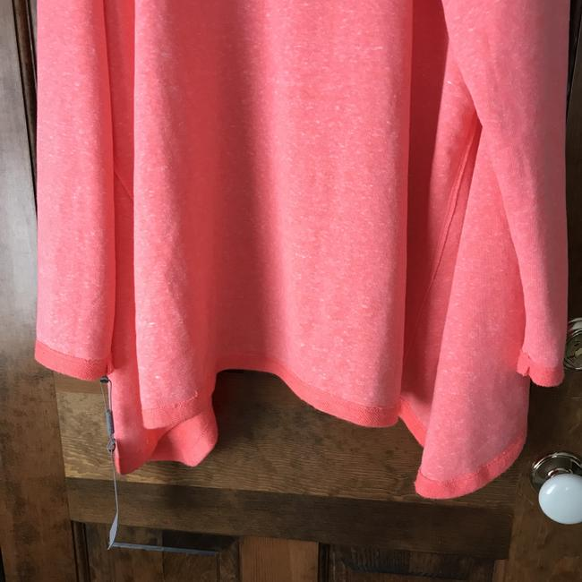 Calvin Klein New With Tags High/Low Drawstring Cowl Terry Lined Machine Wash Sweatshirt Image 6