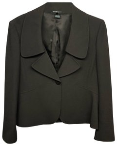 Ellen Tracy Jacket Petite CHOCOLATE Blazer