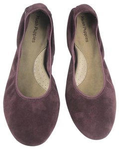 Hush Puppies Purple Flats