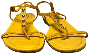 Tod's Made In Italy yellow Sandals