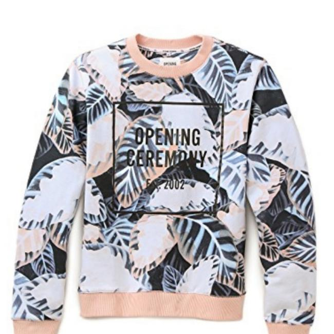 Item - Blush Painted Leaves Oc Sweatshirt/Hoodie Size 0 (XS)