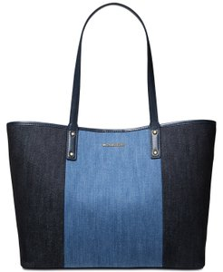 MICHAEL Michael Kors Tote in Denim Multi/Gold
