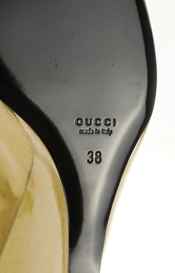 Gucci Gold Wedges Image 10