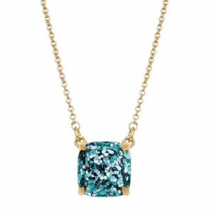 Kate Spade Kate Spade Turquoise Glitter Cause A Stir Necklace
