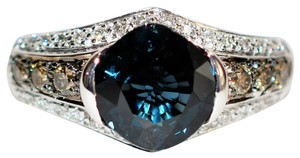 Le Vian 2.55tcw GIA Certified Untreated Spinel & Diamond 14kt White Gold Ring