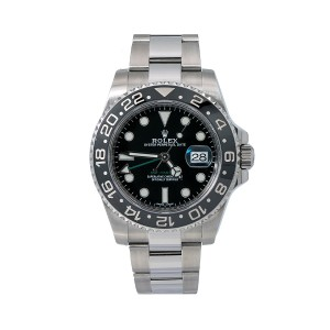 Rolex Rolex GMT-Master II 116710LN 40MM Black Dial With Stainless Steel