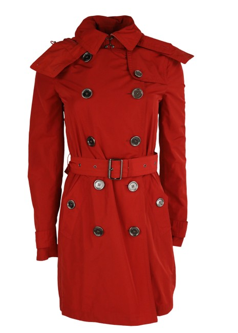 Item - Red Hooded Coat Size Petite 2 (XS)