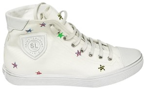 Saint Laurent Bedford Sneakers 55356994d101662 Cream / Fun Star Print Canvas Athletic
