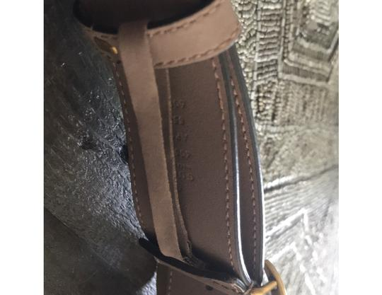 Gucci Rose Leather belt with Double G buckle Image 2