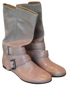 Nine West Taupe Leather Boots