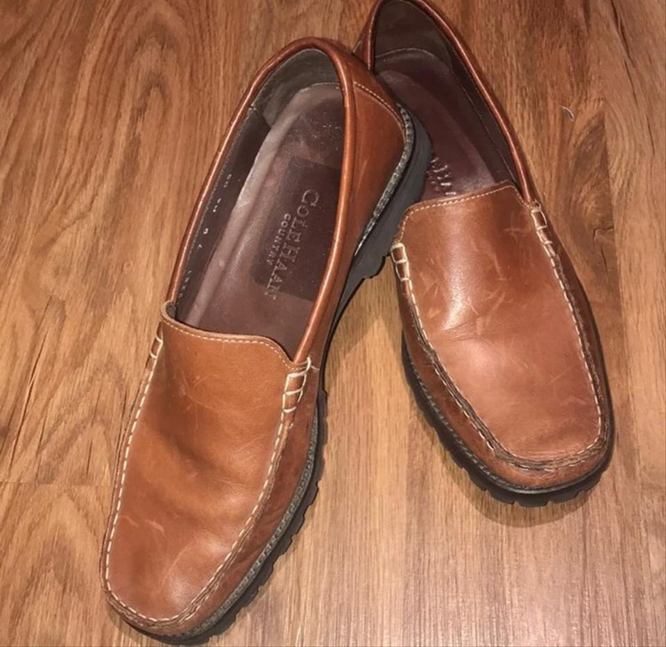 04005d660bd Cole Haan Brown Women's Country Loafers Flats Size US 7 Regular (M ...