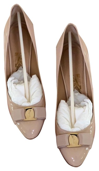"Item - New Bisque Patent Calf Leather ""pimpa"" Cm Pumps Size US 9 Regular (M, B)"