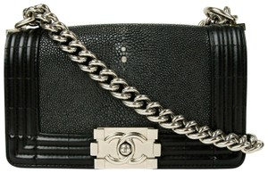 Chanel Stingray/Leather Small Cross Body Bag