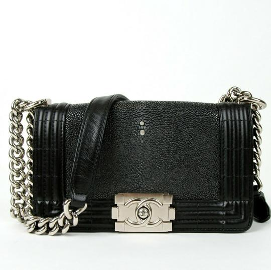 Chanel Stingray/Leather Small Cross Body Bag Image 1