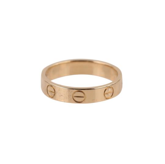 Cartier Rose Gold Love Ring Image 1