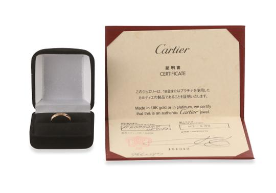 Cartier Rose Gold Love Ring Image 11