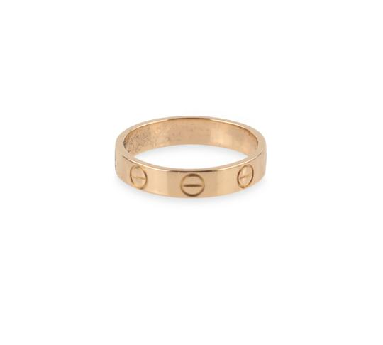Cartier Rose Gold Love Ring Image 2