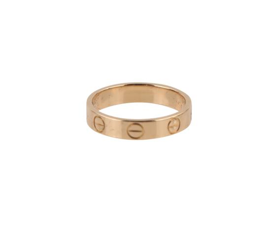 Cartier Rose Gold Love Ring Image 3