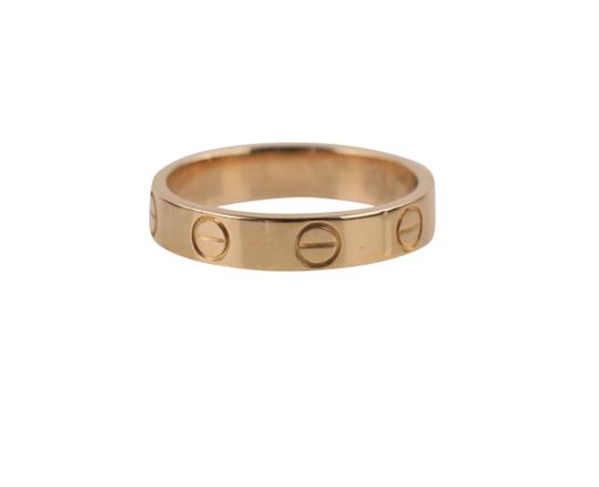 Cartier Rose Gold Love Ring Image 4