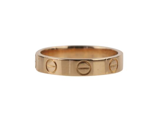 Cartier Rose Gold Love Ring Image 5