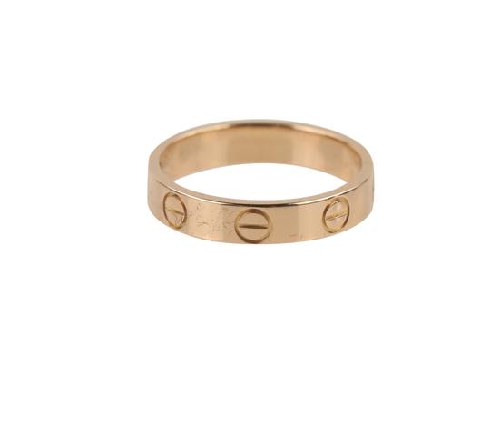 Cartier Rose Gold Love Ring Image 6
