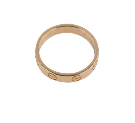 Cartier Rose Gold Love Ring Image 7