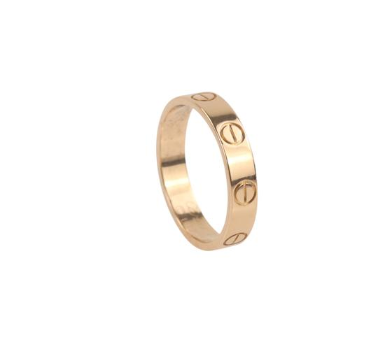 Cartier Rose Gold Love Ring Image 8