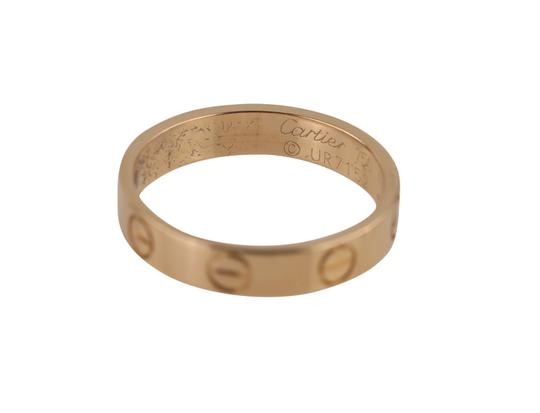 Cartier Rose Gold Love Ring Image 9