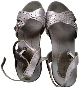 Hush Puppies Silver Sandals